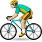 Road bicyclist