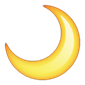 Emoji Quiz Joker, Crescent moon - 7 letters celebrity answer