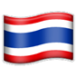 Thai flagg